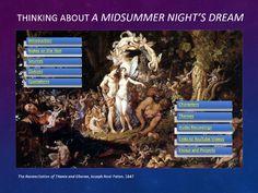 Midsummer Night's Dream PowerPoint, Midsummer Night's Dream Lesson Plans