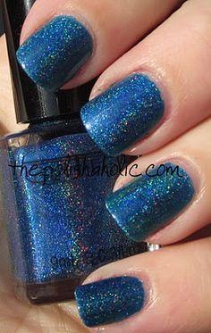Glitter Gal - Marine Blue