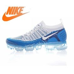 Original Authentic NIKE AIR VAPORMAX FLYKNIT 2 Mens Running Shoes Sneakers Breathable Sport Outdoor Athletic Good Quality 942842 Tênis Para Caminhada, Sapatilhas Para Homem, Sapatos Nike, Tênis Nike, Os Originais, Esportes, Corrida, Sapatos Esporte, Tênis De Basquete