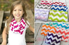 Girls Chevron Scarves in 16 Colors! 64% off at Groopdealz