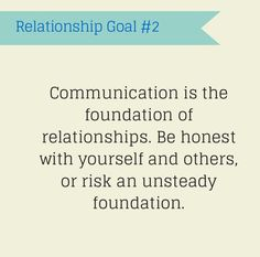 Relationship Goal #2