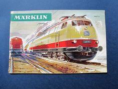 1966-67 MARKLIN MODEL TRAIN / CAR / TOY / ACCESSORIES CATALOG & PRICES - ENGLISH #Marklin