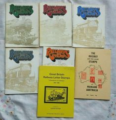 Railways On Stamps Books 1 - 5