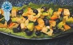 Blueberry Chicken Salad Scoops