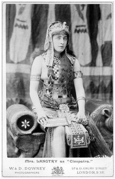Mrs. Langtry as 'Cleopatra' - 1880s