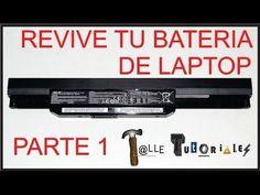 Cómo recuperar las baterías agotadas de los portátiles - YouTube
