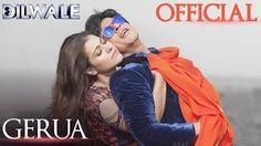 Gerua - Shah Rukh Khan | Kajol | Dilwale | Pritam | SRK Kajol Official New Song Video 2015 - YouTube