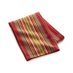 Salsa Dos Red Dish Towel | Crate and Barrel