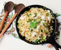 Indian Inspired Recipe for Sauteed Cabbage with Coconut Recipe by @Carla Spacher