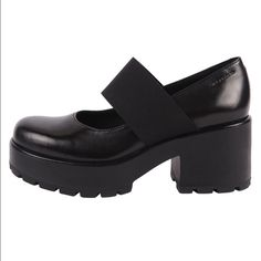 9ccd8a988dc Vagabond Shoemakers Chunky Mary Jane Feel like a real-life Wednesday Addams  in these chunky