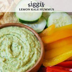 Lemon Kale Hummus