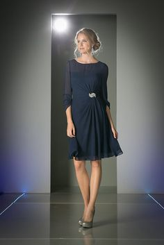 Simply elegant short mother of the bride/groom dress features scoop neckline with sheer overlay sweetheart bodice. Gently gathered knee length flowy skirt for the elegant look. Plus Size Dresses, Sexy Dresses, Evening Dresses, Short Dresses, Bride Dresses, Beach Dresses, Grandma Dress, Tie Front Dress, Ribbed Knit Dress