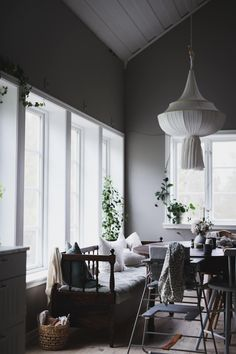 Scandinavian Design House, Home Fashion, Home Office, Beautiful Homes, Kitchen Design, Furniture Design, Ceiling Lights, Flooring, Interior Design