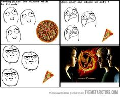 The Pizza Games / Hunger Games