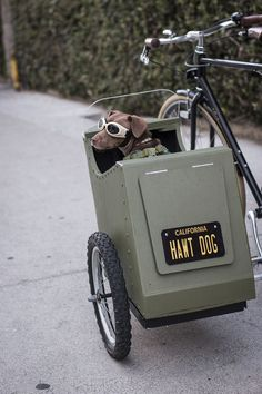 Bicycle Sidecar for Your Dog : 17 Steps (with Pictures) - Instructables Dog Trailer, Bike Trailer, Tricycle, Dog Bike Carrier, Bicycle Sidecar, Velo Design, Bicycle Design, Biking With Dog, Motorized Bicycle