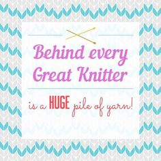 And a cat.  We all seem to have at least one cat. #knitting #yarn