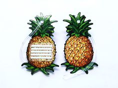 Pineapple luggage tags.  Got some of these!