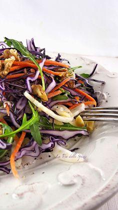 Italian Recipes, Vegan Recipes, Raw Vegan, Junk Food, Japchae, Food Inspiration, Love Food, Meal Prep, Cabbage