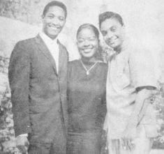 Sam Cooke, Jackie Wilson and friend. Soul Music, My Music, Music Flow, Music Life, Sam Cooke, Coloured People, Vintage Black Glamour, Old School Music, African Artists