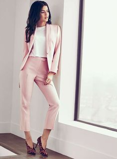 Fotini Fashion Pinterest Suits Pink Suit And Dresses