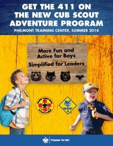 info on the new cub scout program
