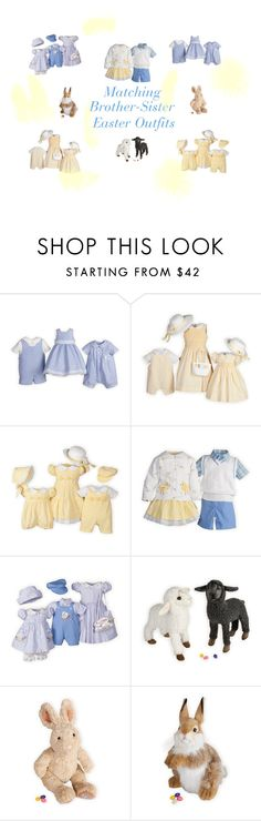 """Matching Brother-Sister Easter Outfits"" by woodensoldier on Polyvore"