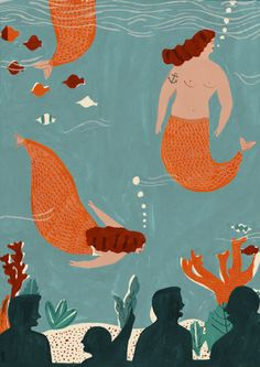 Mermaids-Naomi Wilkinson.
