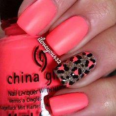Every girl likes nail design