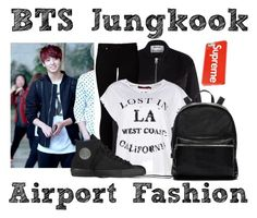 """BTS's Jungkook ~ Airport Fashion 