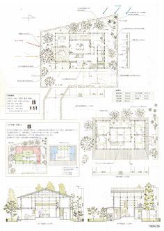 受賞作品 - 木の家設計グランプリ Co Housing, Presentation Skills, Architecture Plan, Competition, Floor Plans, Diagram, Layout, Concept, How To Plan