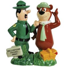 Westland Giftware Yogi Bear Ranger Smith and Yogi 4-1/4-Inch Magnetic Salt and Pepper Shakers by Westland Giftware, http://www.amazon.com/dp/B005W1D9IM/ref=cm_sw_r_pi_dp_oAsurb0N2JGQJ
