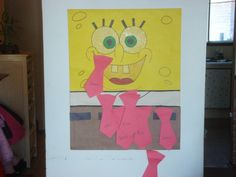 Our Homemade Game - Pin The Tie On Spongebob Squarepants Photo:  This Photo was uploaded by fiercebabe. Find other Our Homemade Game - Pin The Tie On Spo...