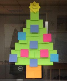 Sweet Little Christmas Tree Trees Post It Art Reading