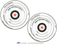 Printable Target Invitations Coolest Free Printables