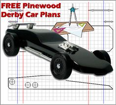 Pinewood Derby Templates Customizable Pinewood Derby Car Template
