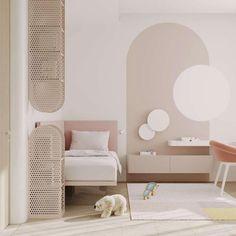 Modern Kids Bedroom, Girls Bedroom, Bedroom Decor, Luxury Kids Bedroom, Kids Room Design, Interior Design Living Room, Ideias Diy, Luxury Homes Interior, Interiores Design