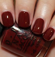 OPI Skyfall ... A real ox blood nail color