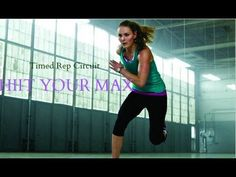 Total Body Fat Burning Circuit - HIIT YOUR MAX Timed Rep Circuit - YouTube