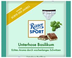 Ritter Sport - Unterhose Basilikum Funny Sports Pictures, Epic Fail Pictures, Trick R Treat, Special Recipes, Sports Humor, Haha, About Me Blog, Jokes, Cool Stuff