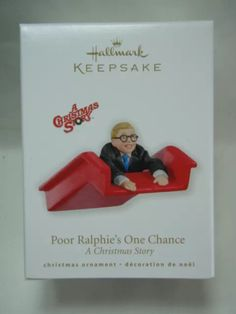 4b82df4c5c 2010 Hallmark Keepsake Ornament Poor Ralphie s One Chance A Christmas Story