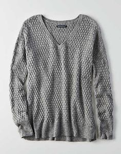 It's always sweater weather with this lightweight piece that layers on the style.