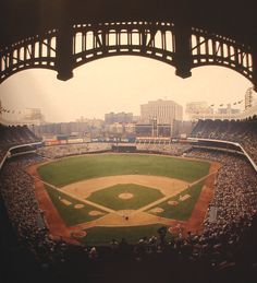 THE OLD YANKEE STADIUM -  I lived 4 blocks away. In summer all I did was open my window to hear the roar of the crowd.