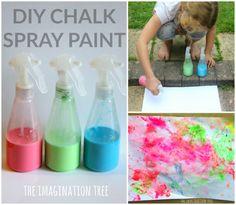 DIY Chalk Spray Paint Recipe