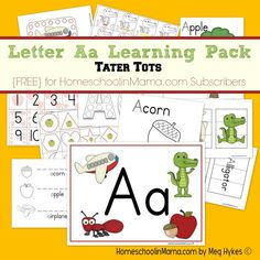 89 Best Aa Letter Activities Images On Pinterest