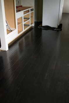 Sherwin williams peppercorn space from the curb pinterest for Hardwood floors throughout