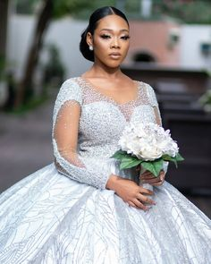 Let's take a beauty deep dive into Diane's bridal beauty look that was effortlessly slayed by makeup artist, Bibyonce Beautiful Wedding Gowns, Elegant Wedding, Dream Wedding, Black Bridal Makeup, Bridal Dresses, Bridesmaid Dresses, Wedding Goals, Wedding Ideas, Wedding Designs