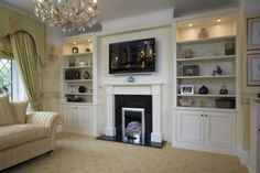 Natalie - this sort of look for living room (with modifications!)