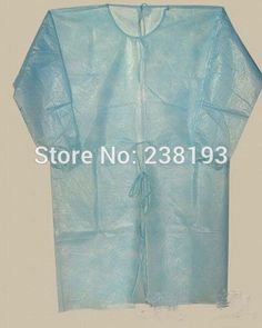 50 pcs Disposable surgical gown thin and light dust clothes , overalls visit ,Non-woven aprons, clothing.clean #Affiliate