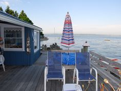 Vashon Island beach cabins