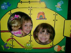 yellow submarine photo board